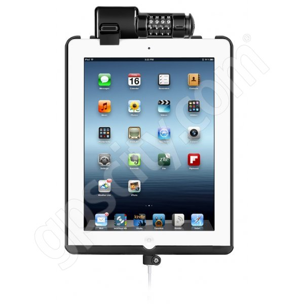 RAM Mount Apple iPad 4 Dock-N-Lock Cradle RAM-HOL-AP8D3LU Additional Photo #1