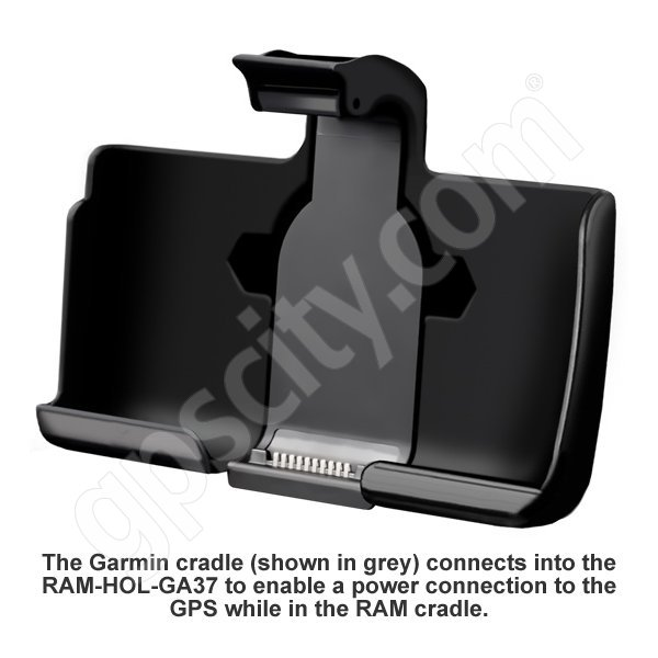 RAM Mount Garmin nuvi 1690 Cradle RAM-HOL-GA37U Additional Photo #1
