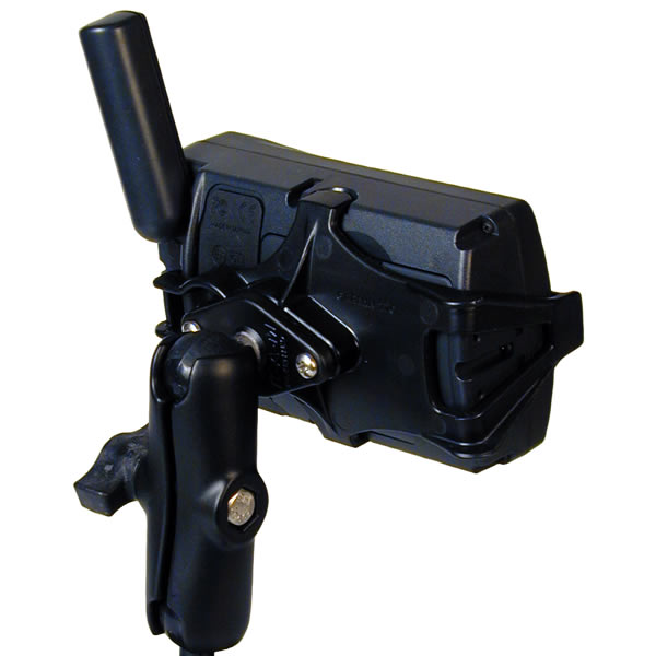 RAM Mount GPSMAP x76 and x96 Series on Motorcycle Brake Mount Additional Photo #4