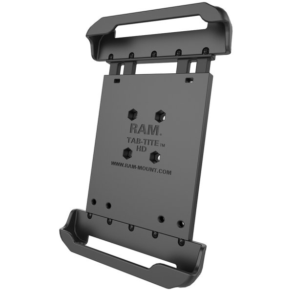 ram mount universal 8 inch tablet mount with case tabtite cradle ramhol - Tablet Mount