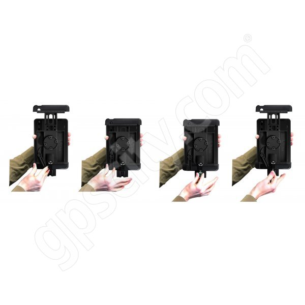RAM Mount Apple iPad Tab-Lock Uni-Conn Cradle RAM-HOL-TABDL7U Additional Photo #2