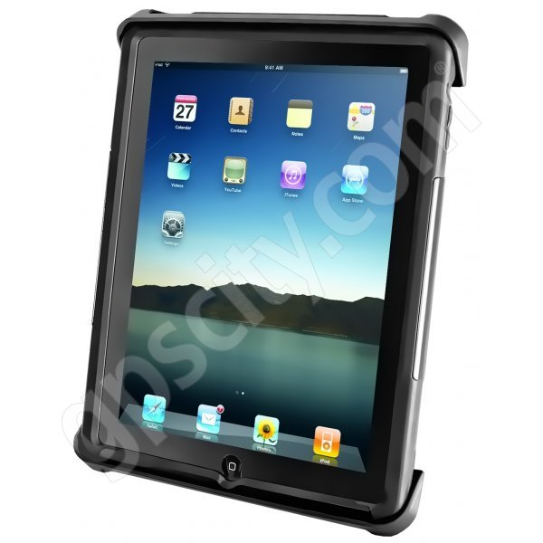 RAM Mount Universal iPad Tablet Mount Large Locking Tab-Lock Cradle RAM-HOL-TABL-LGU Additional Photo #1