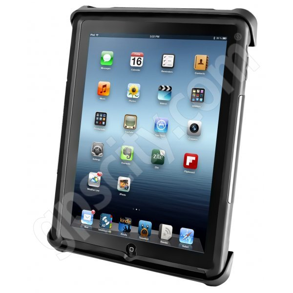 RAM Mount Universal Tablet Mount Locking Tab-Tite Cradle iPad RAM-HOL-TABL3U
