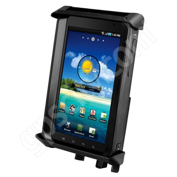 RAM Mount Universal Tablet Mount Tab-Lock 4 Rugged Case Locking Cradle RAM-HOL-TABL4U Additional Photo #1