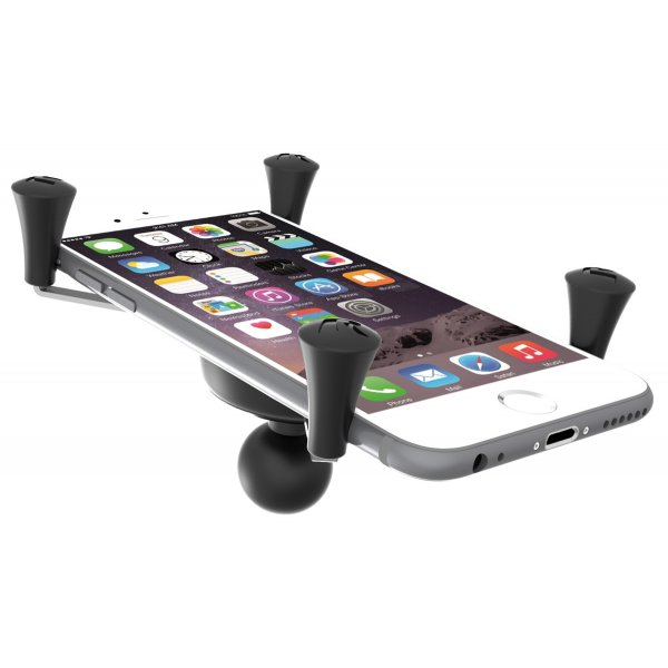 Non-Retail Packaging Black Ram Mount Universal X-Grip IV Large Phone//Phablet Holder with 1-Inch Ball
