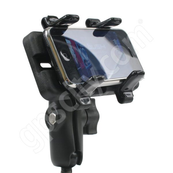 RAM Mount Universal Finger Grip Cradle on Flex Suction Mount Additional Photo #10