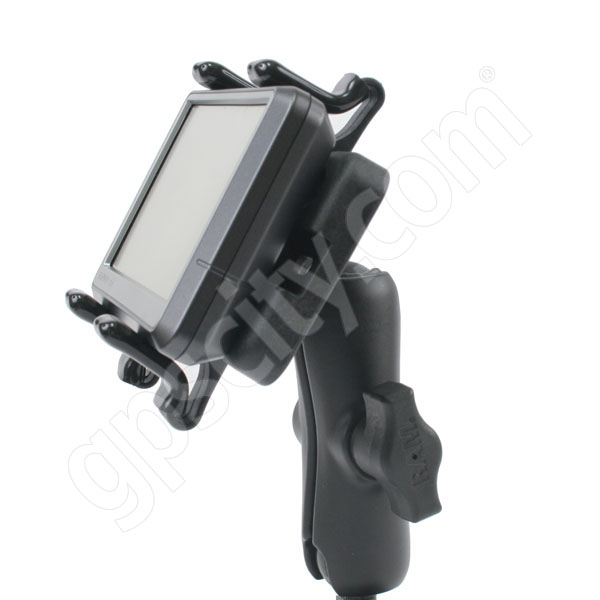 RAM Mount Universal Finger Grip Cradle on Flex Suction Mount Additional Photo #5