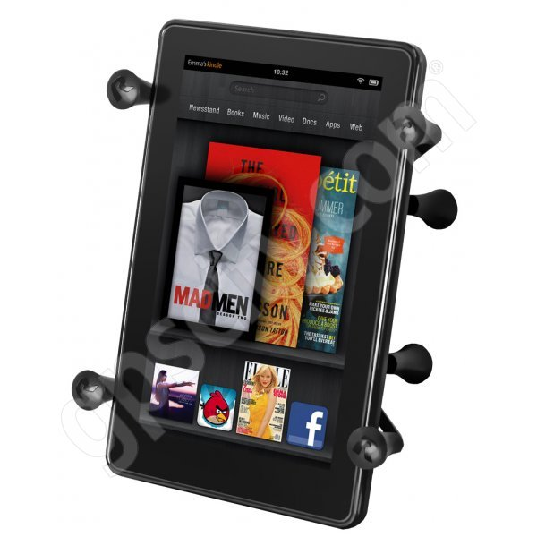 RAM Mount Universal X-Grip II Tablet Cradle with B-Ball RAM-HOL-UN8BU Additional Photo #1