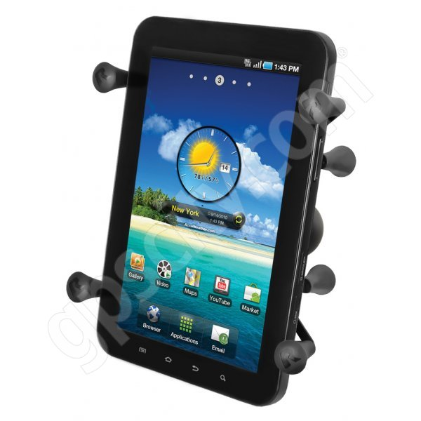 RAM Mount Universal X-Grip II Tablet Cradle with 1.5 inch Ball RAM-HOL-UN8BCU Additional Photo #1