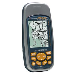 Lowrance iFinder Map and Music GPS