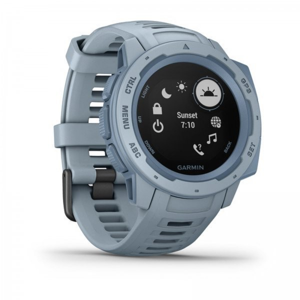 Instinct Rugged, Reliable Outdoor GPS Watch Seafoam