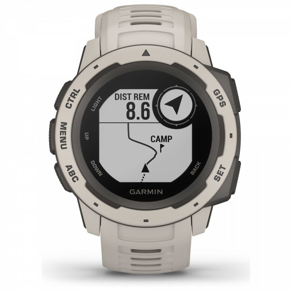 Instinct Rugged, Reliable Outdoor GPS Watch Tundra