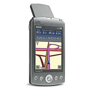 Garmin iQue M4 Color Pocket PC PDA GPS