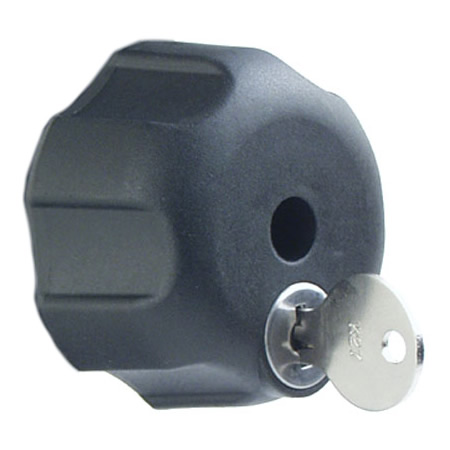 RAM Mount Single Locking Knob Steel Thread for 1.5 inch Socket Arm