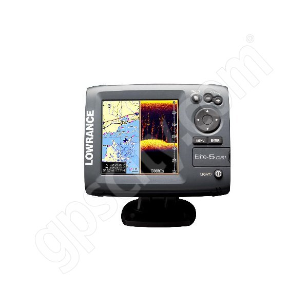 Lowrance Elite-5 DSI Fishfinder and GPS Chartplotter Additional Photo #2