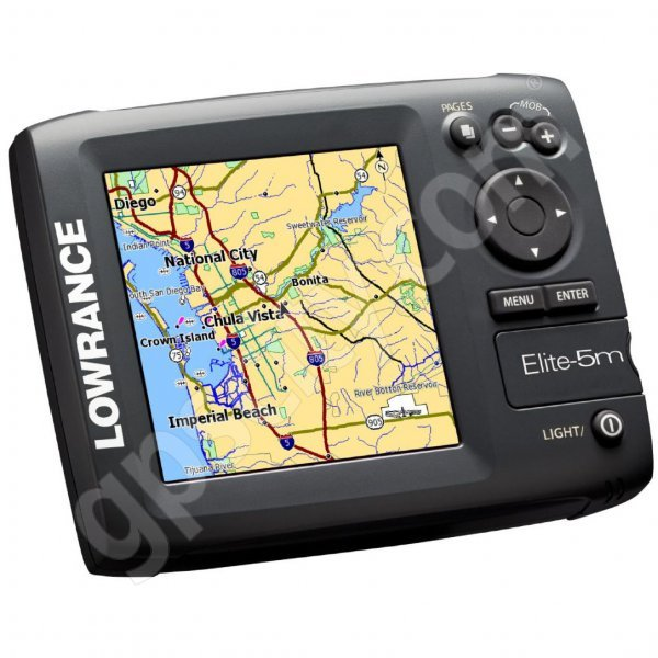 Lowrance Elite-5m Baja GPS Chartplotter Additional Photo #1