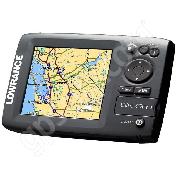 Lowrance Elite-5m Baja GPS Chartplotter Additional Photo #2