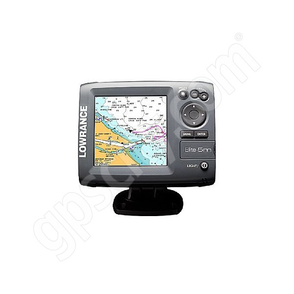 Lowrance Elite-5m Gold GPS Chartplotter Additional Photo #1