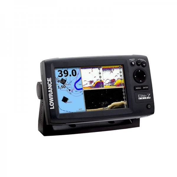 lowrance elite 7 chirp fishfinder and chartplotter