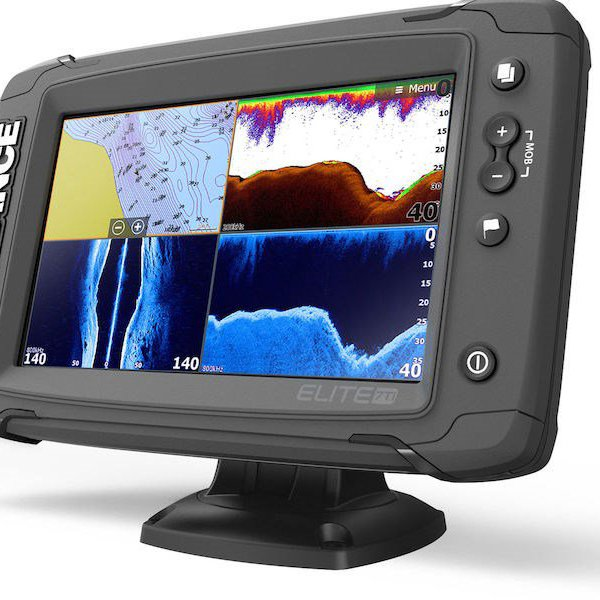 Elite-7 Ti Fishfinder Chartplotter Combo without Transducer