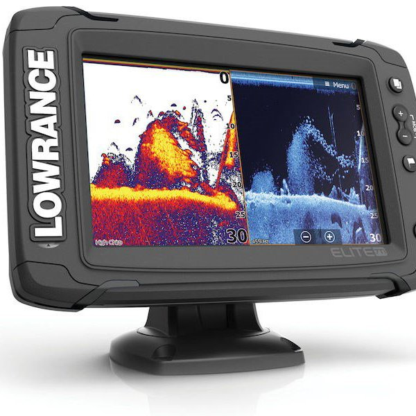 Lowrance Elite-7 Ti Touchscreen with DownScan Transducer