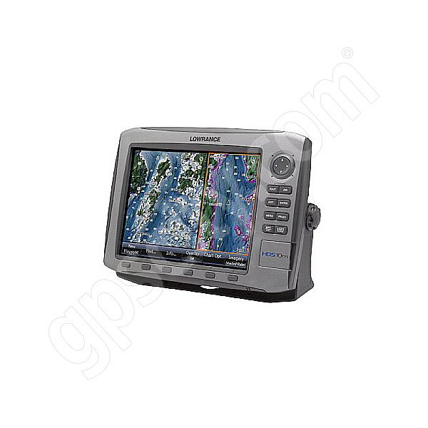 Lowrance HDS-10 Chartplotter and Fishfinder with Nautical Insight