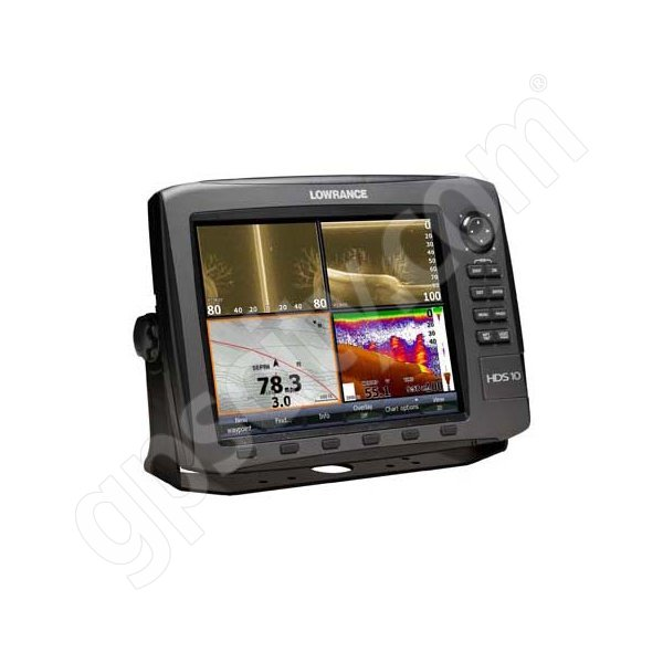 Lowrance HDS-10 Gen2 USA Insight Fishfinder and GPS Chartplotter LSS-1 Bundle Additional Photo #2