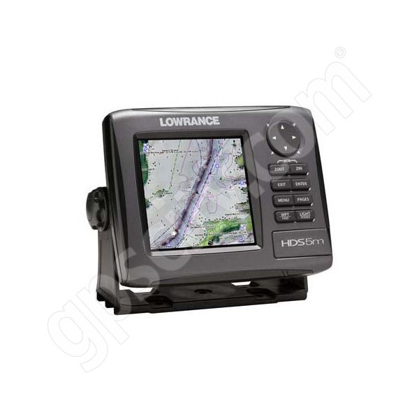 Lowrance HDS-5m Gen2 Nautic Insight GPS Chartplotter Additional Photo #2
