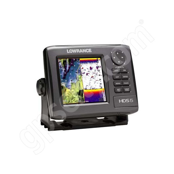Lowrance HDS-5 Gen2 Lake Insight Fishfinder and GPS Chartplotter LSS-1 Bundle Additional Photo #2