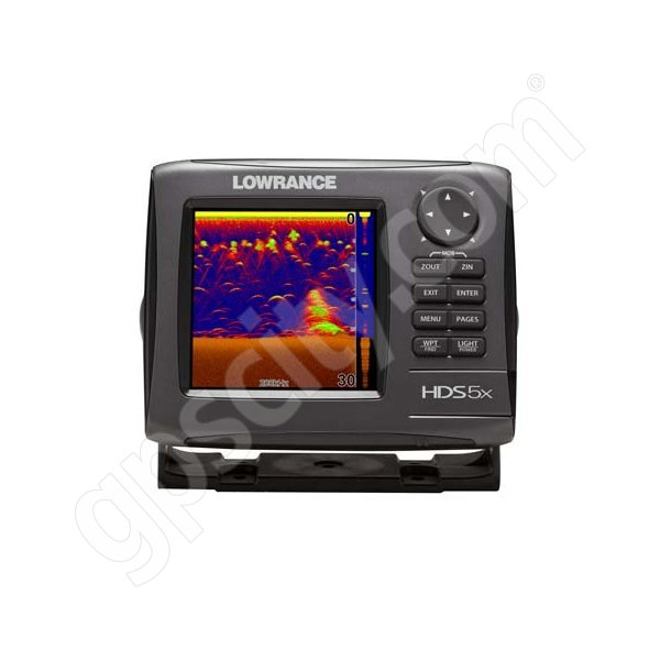 Lowrance HDS-5x Gen2 Fishfinder with 83 200 kHz Transducer Additional Photo #1