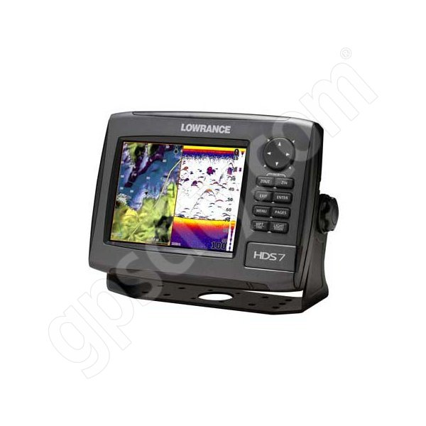 Lowrance HDS-7 Gen2 USA Insight Fishfinder and GPS Chartplotter 50 200 Transducer