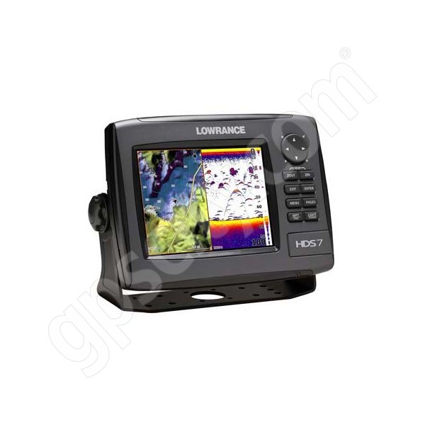 Lowrance HDS-7 Gen2 USA Insight Fishfinder and GPS Chartplotter LSS-1 Bundle Additional Photo #2