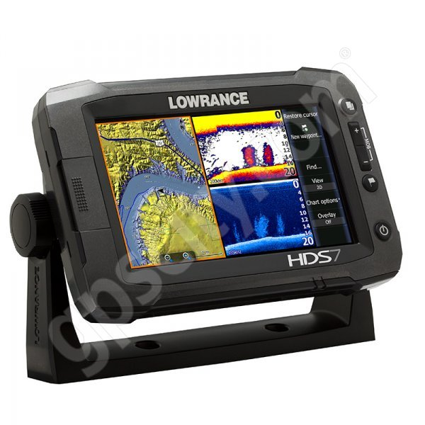 Lowrance HDS-7 Gen2 Touch Insight USA with StructureScan HD Bundle Additional Photo #1