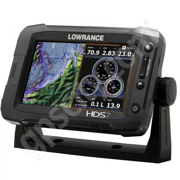 Lowrance HDS-7 Gen2 Touch Insight USA with StructureScan HD Bundle Additional Photo #2