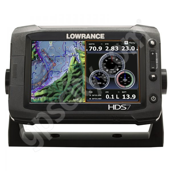 Lowrance HDS-7 Gen2 Touch Insight USA with StructureScan HD Bundle Additional Photo #3