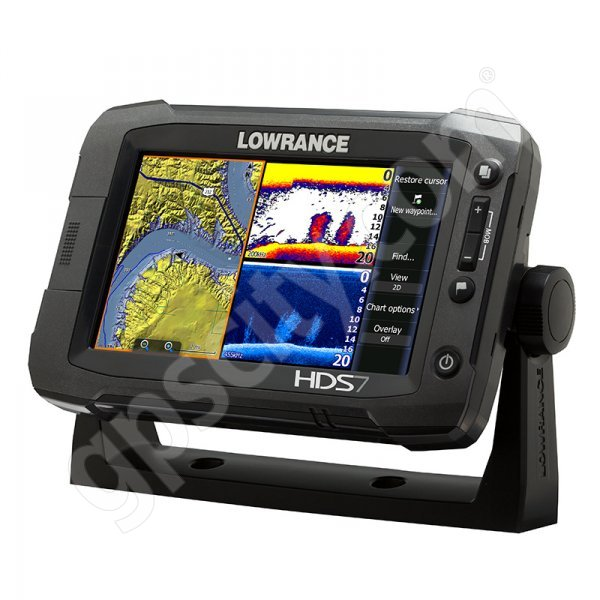 Lowrance HDS-7 Gen2 Touch Insight USA with 83 200 kHz Transducer