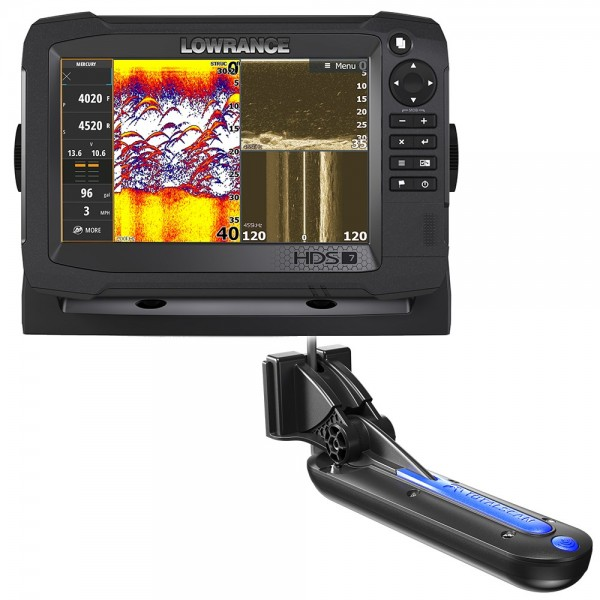 HDS-7 Carbon with C-MAP Insight Pro and Total Scan Transducer Bundle