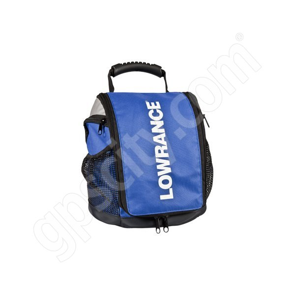Lowrance ppp 18i ice fishing bag with transducer for Ice fishing bag