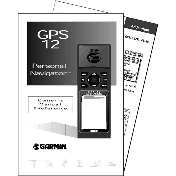 Garmin GPS 12 Manual English