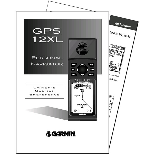 Garmin GPS 12XL Manual English v4.0