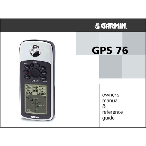 Garmin 76 Manual French