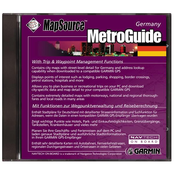 MG Germany - Germany map garmin download