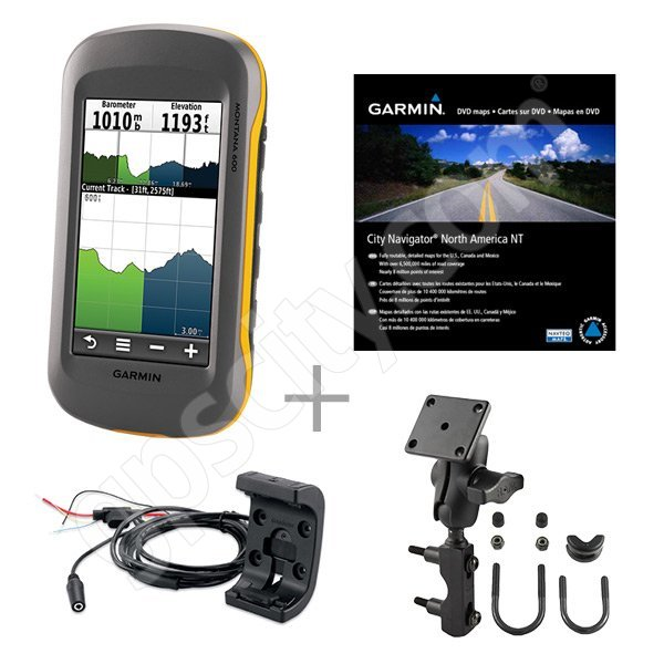 Garmin Montana  Motorcycle Street Mapping Bundle