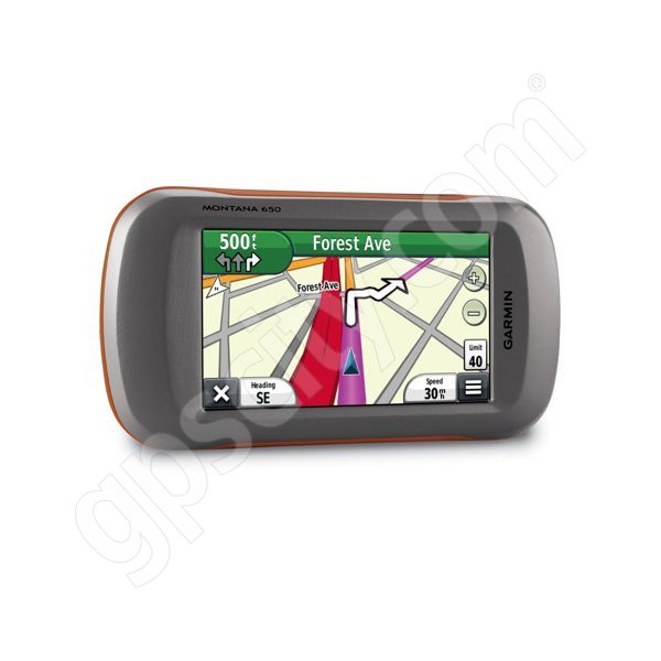Garmin Montana 650 with US 100K Topo Additional Photo #4