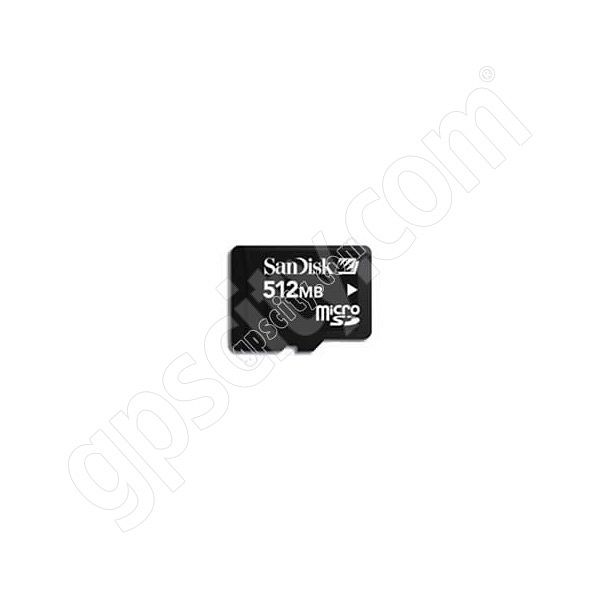 SanDisk 512MB microSD Data Card with Adapter