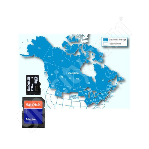 Garmin microSD City Navigator Canada NT Card with Adapter Additional Photo #1