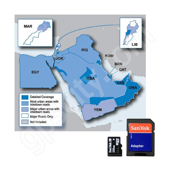 Garmin microSD City Navigator Middle East and Northern Africa 2013 NT