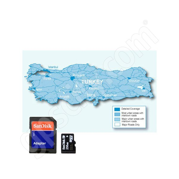 Garmin microSD City Navigator Turkey NT Card