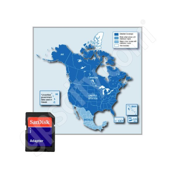 Garmin Kenwood City Navigator USA and Canada NT Card 2012