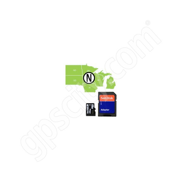 Navionics HotMaps Platinum North USA Lakes microSD with SD Adapter